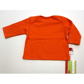 Baby-Shirt uni orange, 50/56