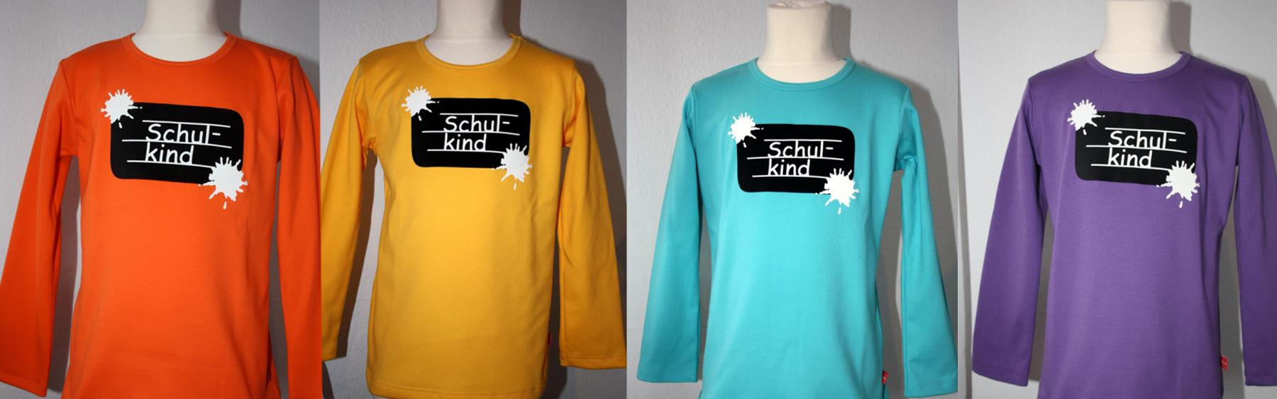 Schulkind-Shirts