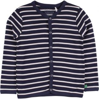 Baby-Cardigan Stripe navy/cream 56