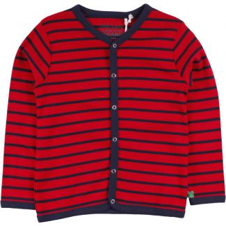 Cardigan Stripe navy/red 104