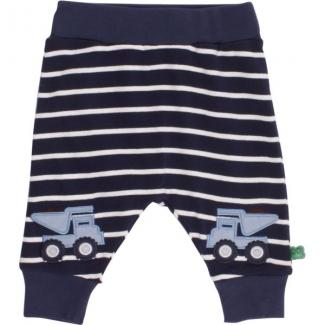 Bulldozer Pants stripe navy/cream Größe 74