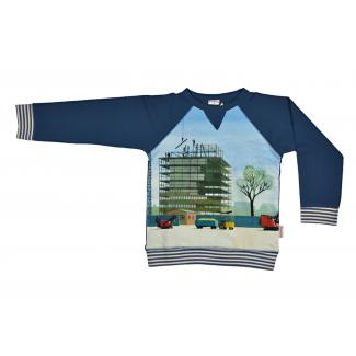 Sweater Allover-Print von Baba, Gr. 140