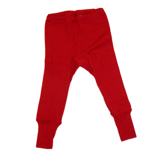 "Baby-Hose lang aus Wolle-Seide - von ""Cosilana"", rot, 50/56"