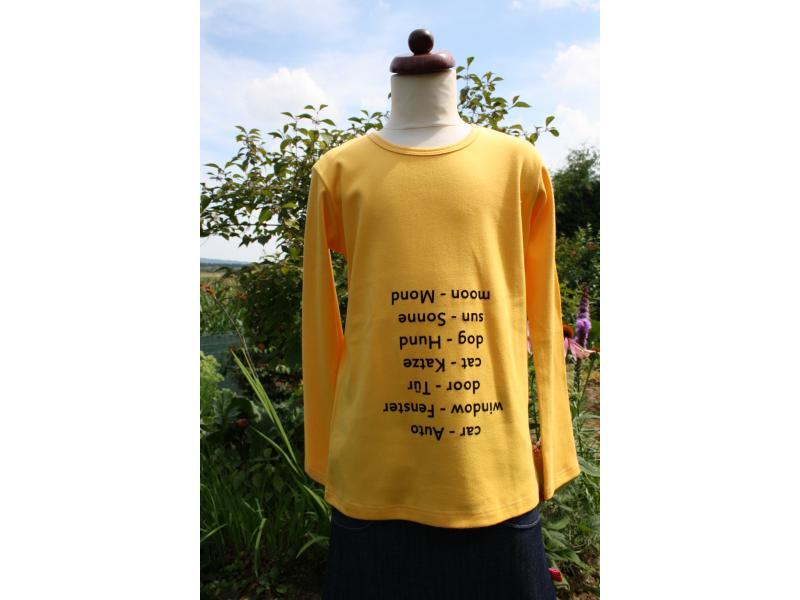 Langarm shirt spicker englisch gelb spicker shirts