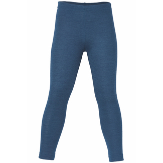 Kinder-Legging von Engel , Wolle/Seide,light ocean,92