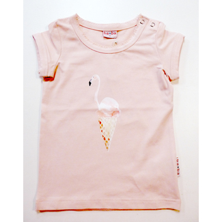 T-Shirt Flamingo, rose, von Baba, Gr. 98
