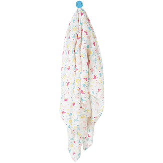 Muslin Swaddle, Chickadee