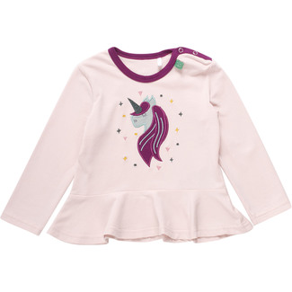 Shirt Unicorn, appliziert, rosa, Gr. 104