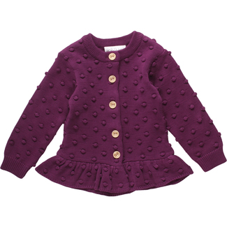 Baby Strick-Cardigan von Freds World, bordeaux, Gr. 92