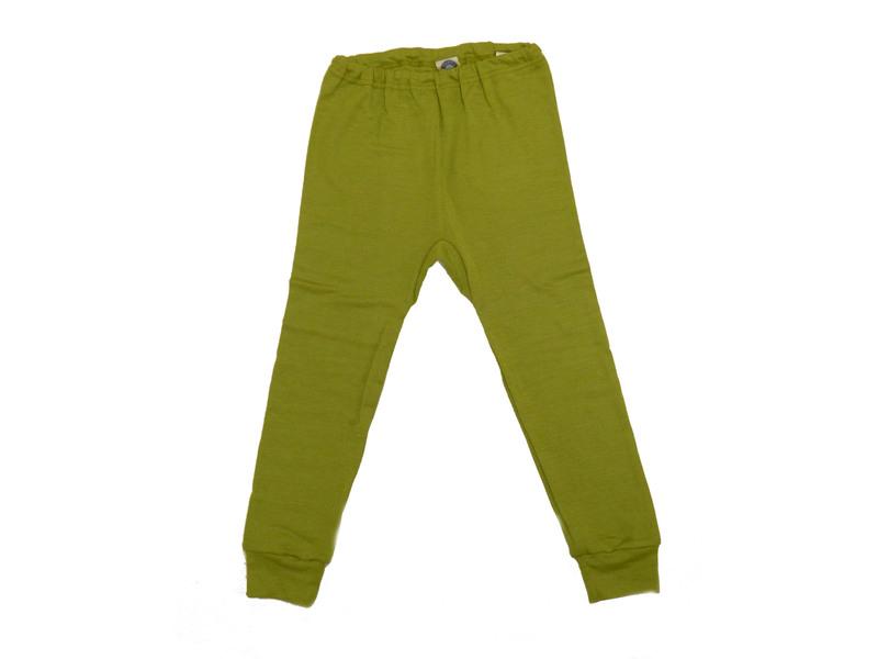 """1b9e4874acc673 Kinder-Unterhose aus Wolle-Seide - von """"Cosilana"""", grün, 104"""