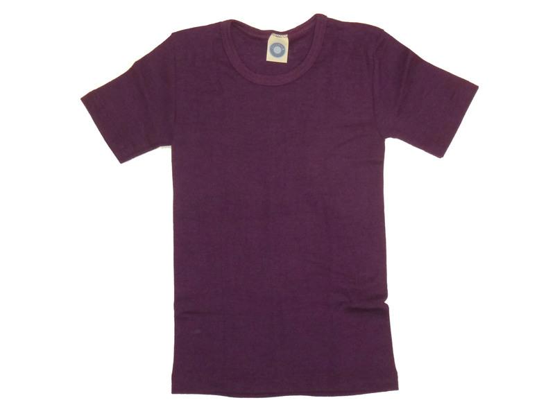 35925c668772f5 Kinder-Unterhemd 1/4 Arm aus Wolle/Seide - von