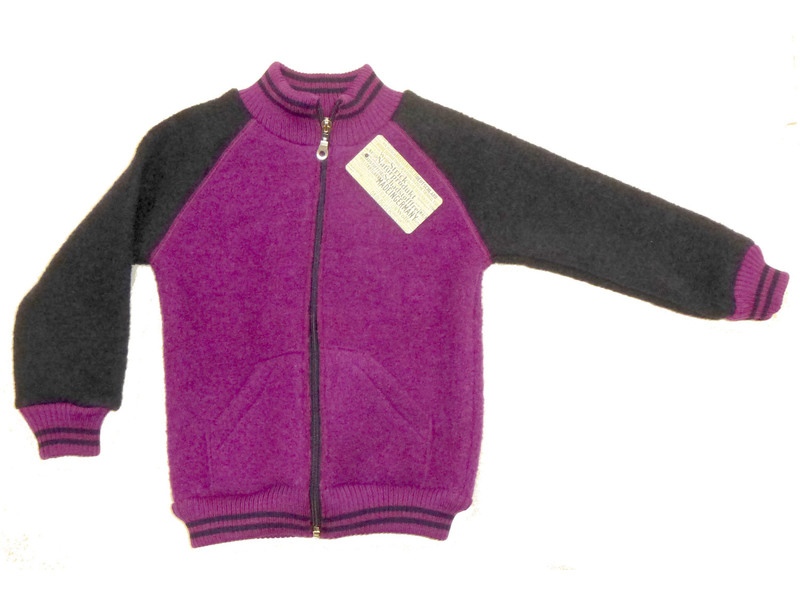big sale 9d6c1 d5613 College-Walk-Jacke von Halfen, purple-marine, Gr. 146/152