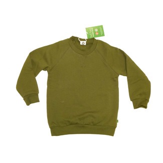 Sweatshirt , dark green, Gr. 104