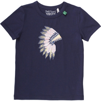 T-Shirt Indianer, navy, Gr. 128