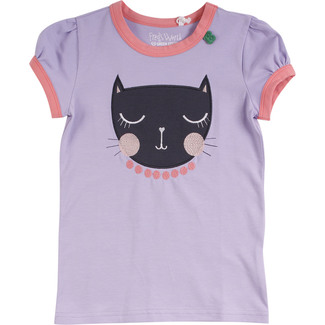 T-Shirt Cats, lavendel, Gr. 122