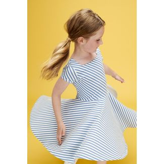 Kiki Dress, Lily Balou, Diagonal Stripes, 92